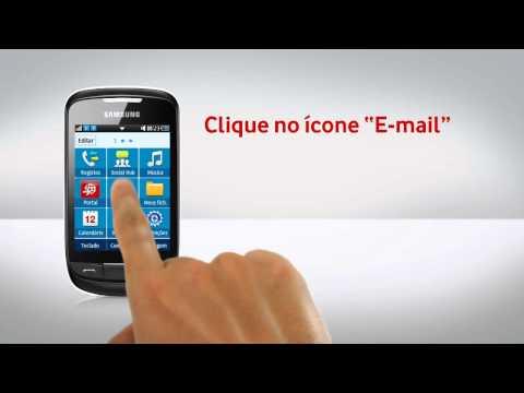 Samsung Corby II - Configuração de e-mail