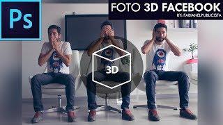 Fotos 3D para Facebook en Photoshop | TUTORIAL #68 | Español
