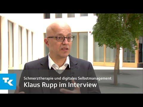 Klaus Rupp im Interview | Schmerztherapie und digitales Selbstmanagement