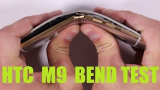 HTC One M9 Bend test, Flame Test, Scratch Test FAIL