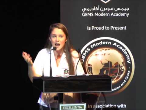 Modern World Debates 2014 Grand Final