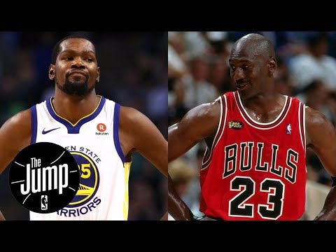 Kevin Durant says Michael Jordan didn't go through same criticism  The Jump  ESPN
