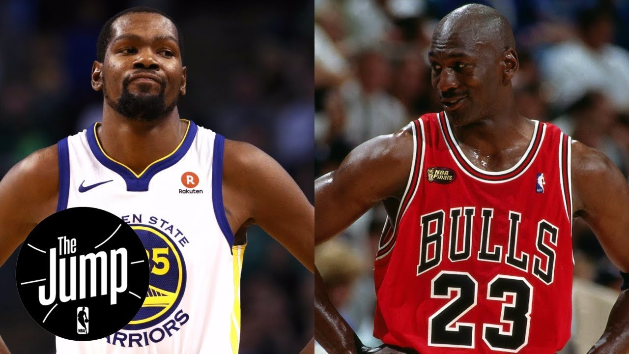ecda6640b52 Kevin Durant says Michael Jordan didn t go through same criticism ...