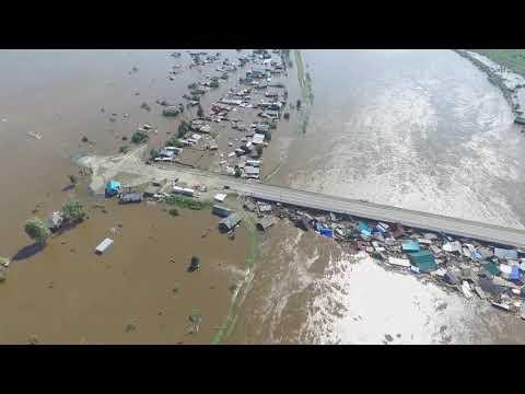 Наводнение Иркутская область город Тулун