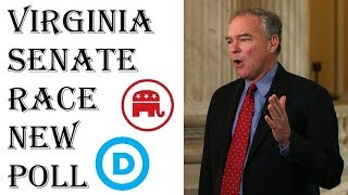 2018 Senate Predictions - Tim Kaine vs Corey Stewart - New Poll June 2018 Virginia
