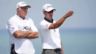 "Adam Scott ""Not Distracted"" by Steve Williams"