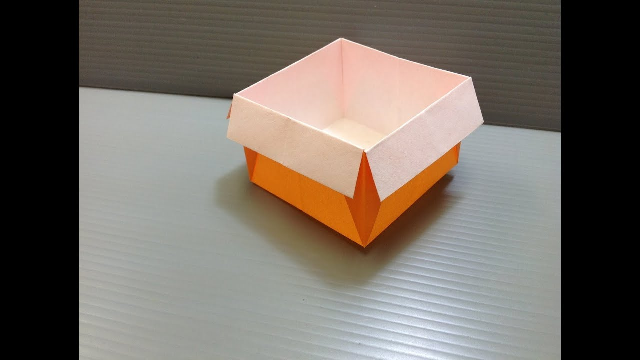 Daily Origami: 027 - Box - YouTube - photo#41