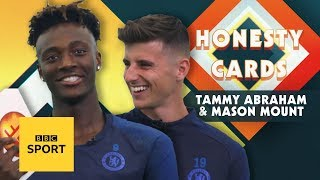 Tammy Abraham sees Kevin Hart playing him & Mason Mount's Spider-Man obsession | Honesty Cards