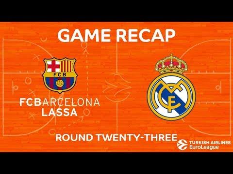 Highlights: FC Barcelona Lassa - Real Madrid