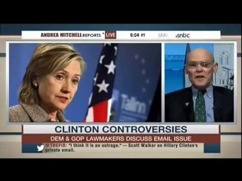 Andrea Mitchell Repeatedly Fact-Checks James Carville