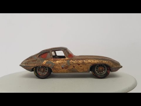 MATCHBOX Custom No 32b E Type Jaguar 1962 thumbnail