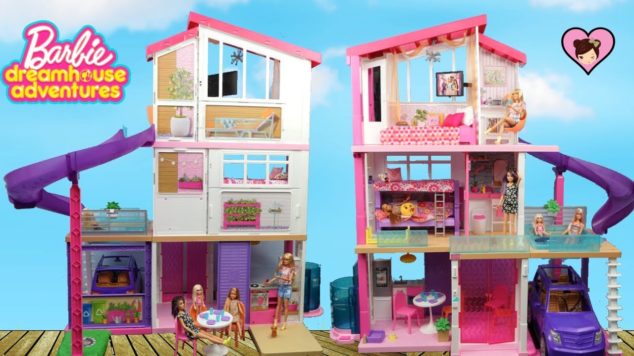 Badezimmer Set Sale New Barbie Dreamhouse Adventures Dollhouse With Bunk Beds And Pool