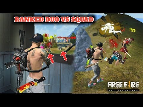 FREE FIRE RANKED DUO VS SQUAD 15 KILLS GAMEPLAY // GARENA FREE FIRE !!!