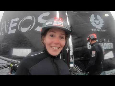 Freestyle skier Silvia Bertagna goes racing