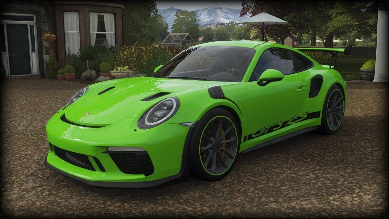Forza Horizon 4 - 2019 Porsche 911 GT3 RS - YouTube