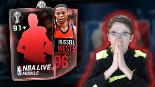 NBA Live Mobile - 6 91+ AWARD WINNER ELITE NOMINEE OPENING!! NEW PROMO!! Worth It? 99 LEBRON MASTER!