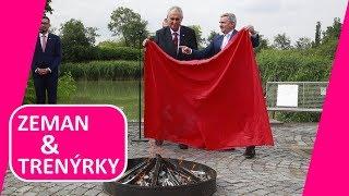 MILOŠ ZEMAN spálil červené trenýrky! Skončil čas spodního prádla v politice, pravil státník!