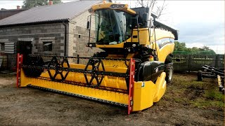 Nowy nabytek New Holland Cx 5080 elevation!