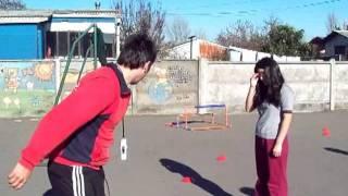 Clase Educaciòn Fìsica, Unidad atletismo, salto alto