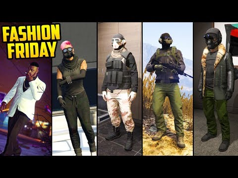 GTA 5 Online FASHION FRIDAY! (Vulture from Spiderman, Spetsnaz, Cyber Punk & More)