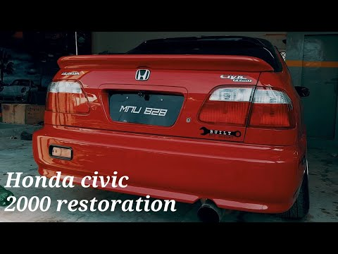 Honda civic 2000 review