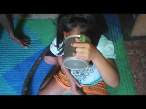 reni minum air bajakah lamei di rumah