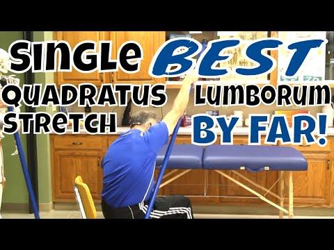 Single BEST Quadratus Lumborum Stretch, By Far!