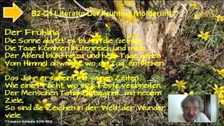 Wir beschäftigen uns mit Hölderlins Gedicht Der Frühling Created wi...