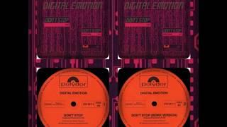 "DIGITAL EMOTION - DON'T STOP  (12"", REMIX 1983)"