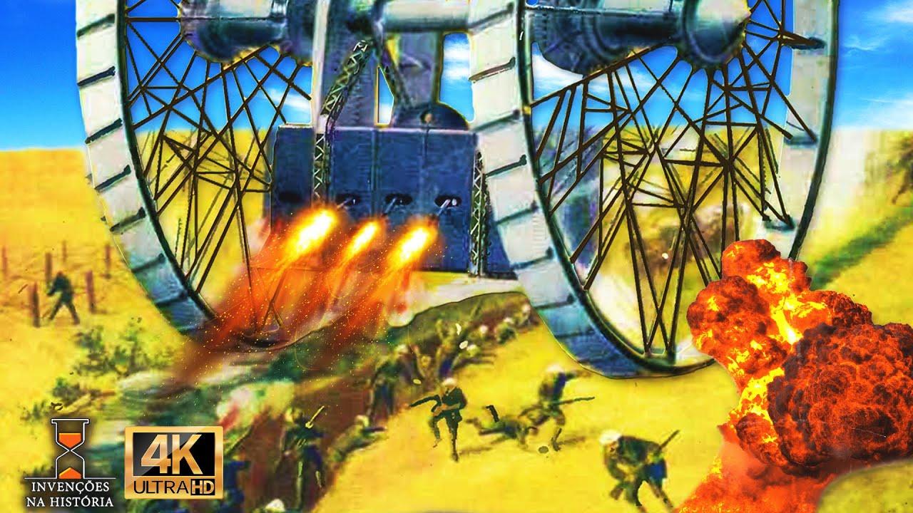 Retrofuturismo [3]: Projetando máquinas para as trincheiras da 1° guerra mundial #EP33