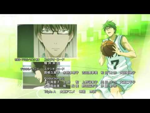 Kuroko no Basket Ending 6