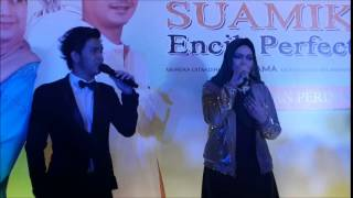 Persembahan Cakra Khan & Dato Siti Nurhaliza  di Tayangan Perdana Suamiku Encik Perfect 10