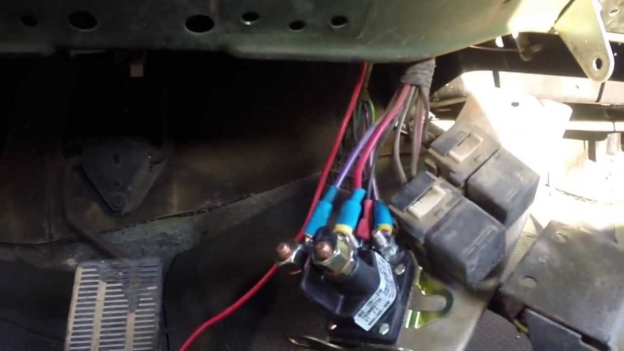 For A Chevy 350 Starter Motor Wiring Diagram M1009 Quot Doghead Quot Starer Relay Mod Youtube