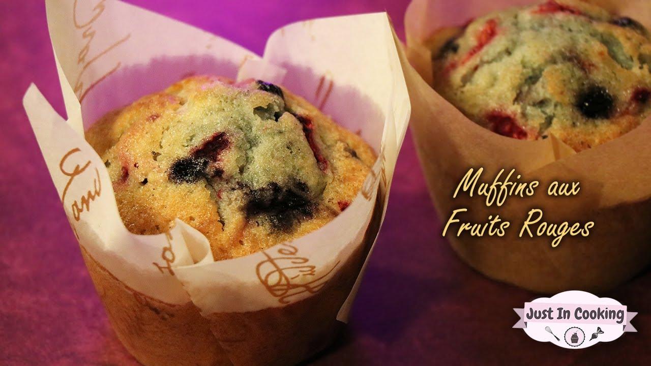 Recette des Muffins aux Fruits Rouges