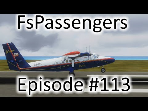 FSX | FsPassengers Ep. #113 - Saint Vincent and the Grenadines to Grenada | DHC-6-300
