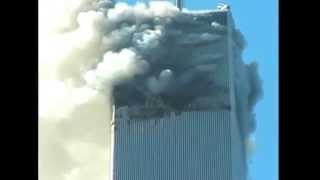 9/11 RARE FOOTAGE... PEOPLE JUMPING OUT OF TOWER!!
