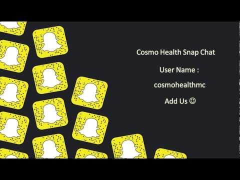 snap chat Cosmo Health Medical Center