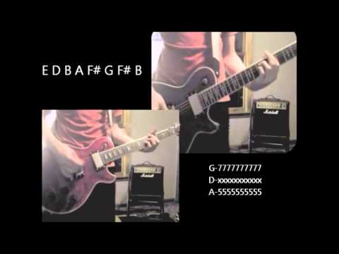 Guitar guitar tabs on screen : The Digital Age - Hallelujah Guitar Cover w/ Tabs on Screen - YouTube