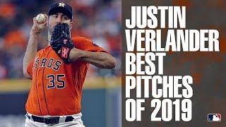 AL Cy Young winner and Astros pitcher Justin Verlander's best pitches of 2019