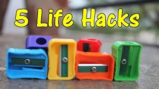 5 Life hacks of Pencil Sharpener - A2C