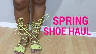 Megz Spring Shoe Haul - ASOS & Lola Shoetique