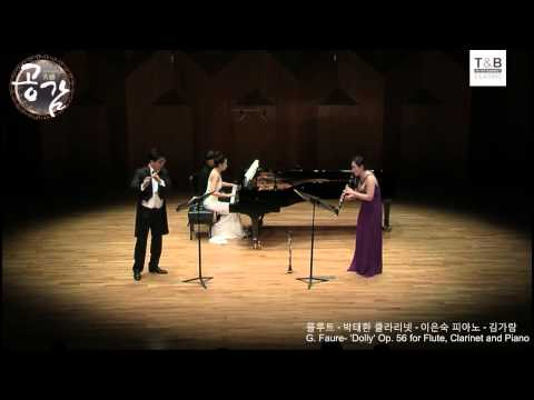 G. Faure - 'Dolly' Op 56 for Flute, Clarinet and Piano