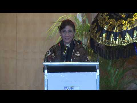 Hon Ibu Susi Pudjiastuti Minister of Marine Affairs and Fisheries, Republic of Indonesia, Indonesia