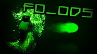 Green Effects Speed GFX of My Character! | ROBLOX