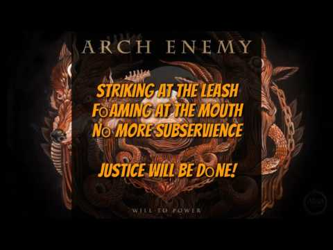 Arch Enemy - The World Is Yours (LYRICS VIDEO)