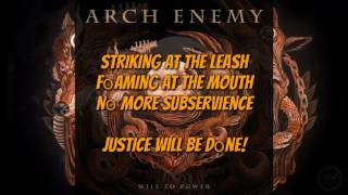 Arch Enemy The World Is Yours LYRICS VIDEO