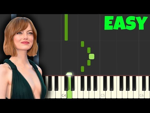 La La Land Easy Piano Tutorial SynthesiaSheet Music