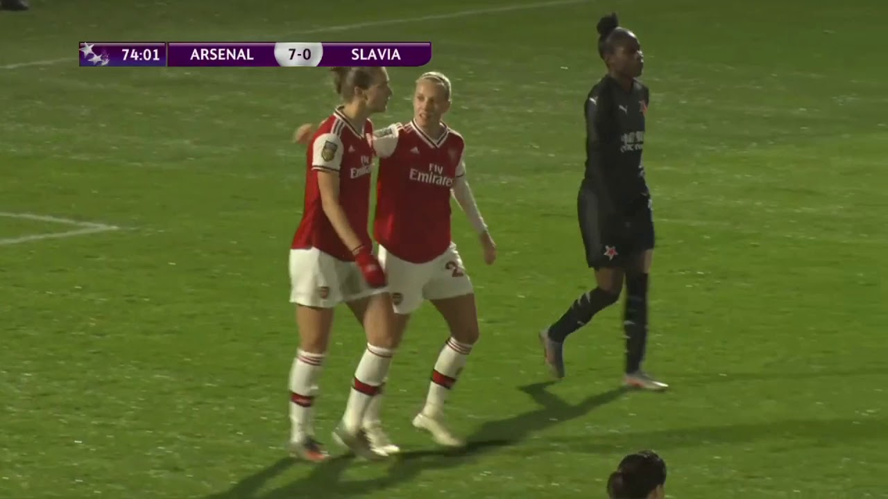Image result for arsenal women slavia""