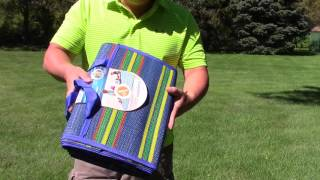 Camco 42805 60 X 78 Handy Mat With Strap For Picnics And Beach Review Youtube