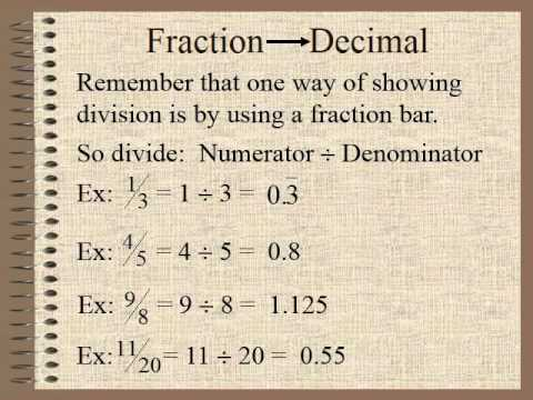 how to make a decimal a percent